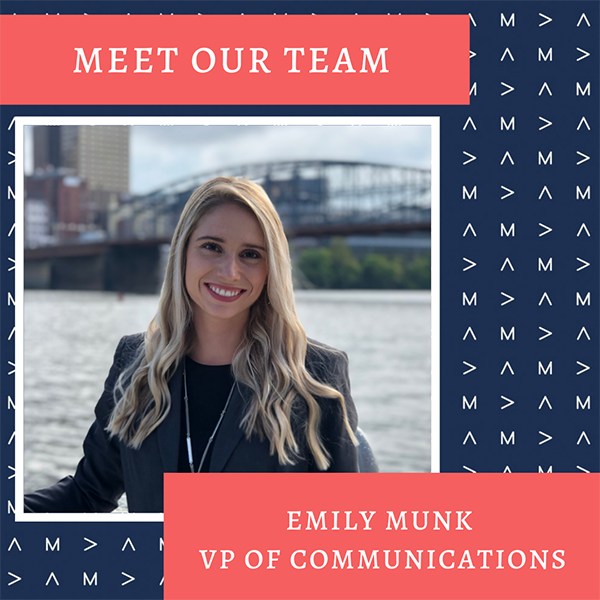 Meet Our Team: Emily Munk, VP of Communications