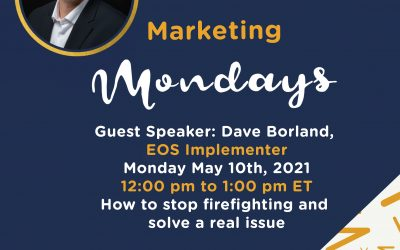 Marketing Mondays: How to stop firefighting and solve a real issue