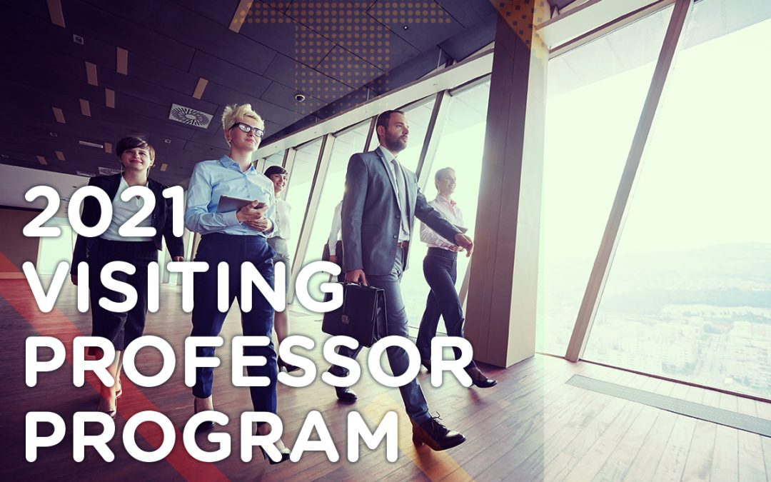 Announcing the AMA Pittsburgh 2021 Visiting Professor Program