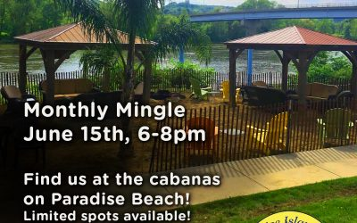 June's Monthly Mingle in Paradise!