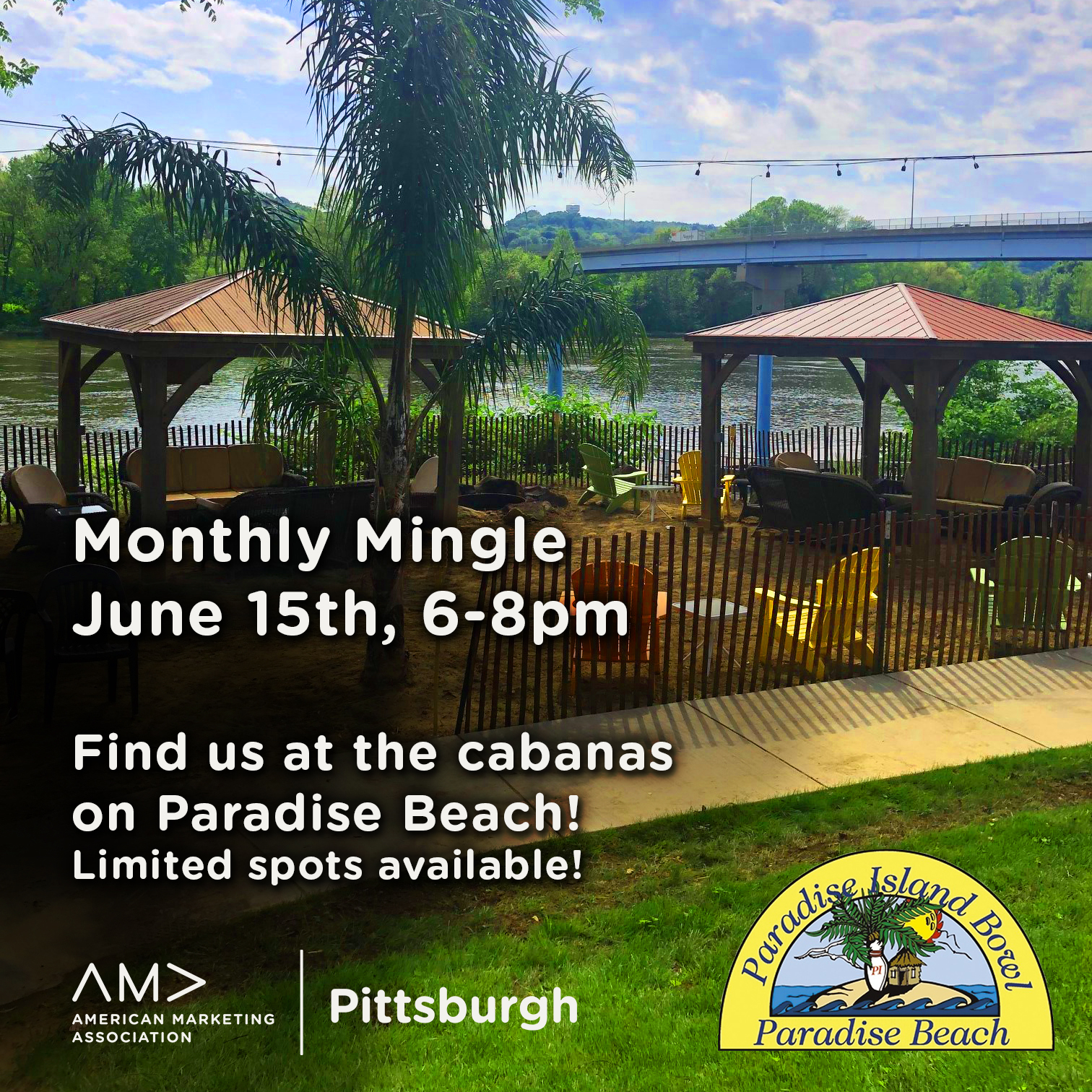 AMA June Monthly mingle at paradise island