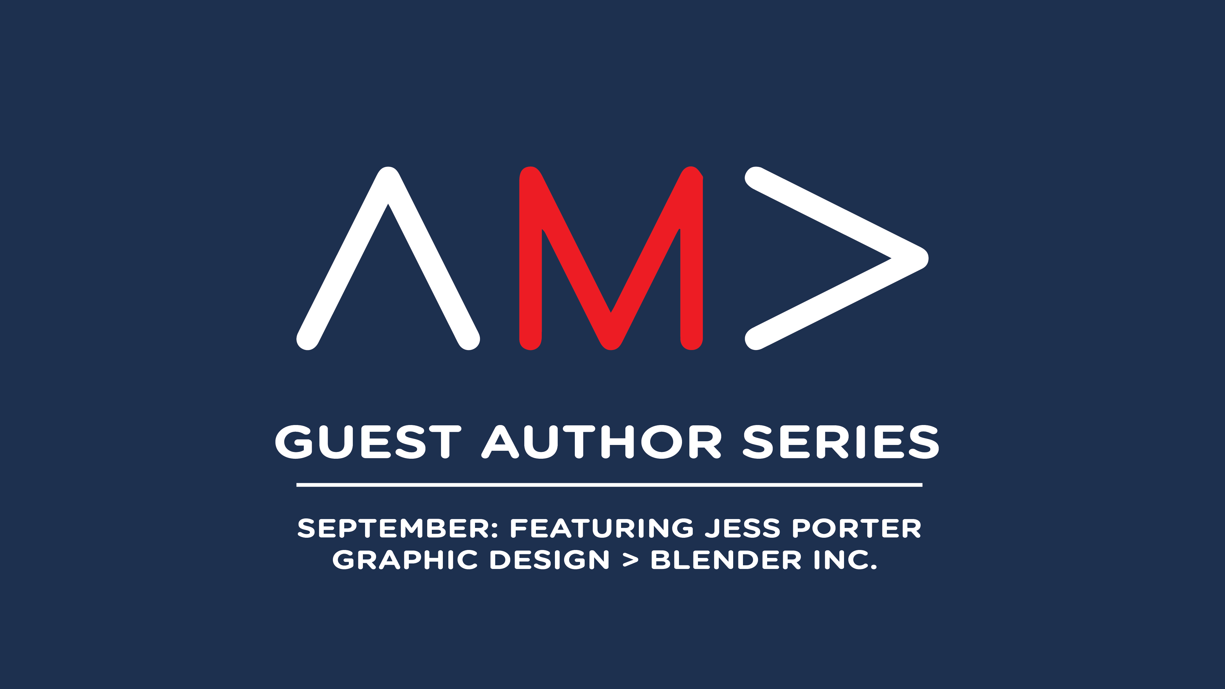 AMA Pittsburgh Guest Author Series: Jess Porter
