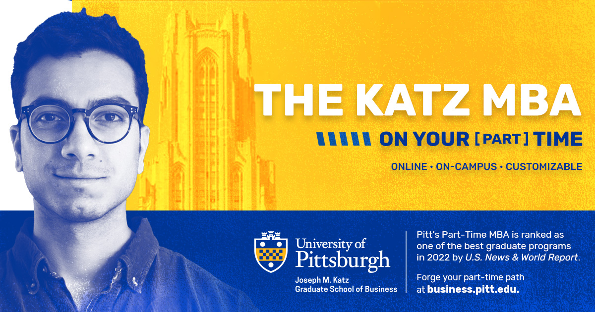 Pitt Business Part-Time MBA