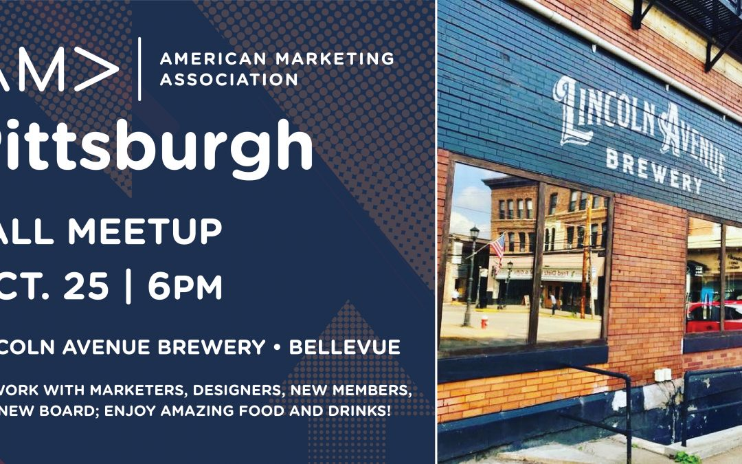 AMA Fall Meetup at Lincoln Avenue Brewery