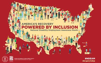National Disability Employment Awareness Month 2021